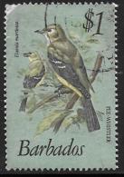 Barbados, Scott # 508 Used Birds, 1979, Corner Defect - Barbados (1966-...)
