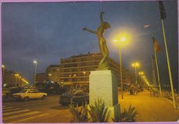 66 °° Canet-plage - Statue De La Fille Du Soleil Et De La Mer - écrite 1985  °  T B E - Canet Plage