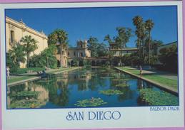 Usa °° Californie - San Diego - Grand Bassin De Balboa Park - écrite  **  LUXE - Palm Springs