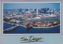 Usa °° Californie - San Diego . Beautiful Waterfront - écrite 1989  **  LUXE - Palm Springs