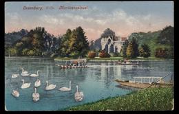 [023] Schloss Laxenburg, Marianneninsel, 1916, Bez. Mödling, Verlag Ledermann (Wien) - Laxenburg