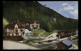 [023] Semmering, Bahnhof, Gel. 1931, Bez. Neunkirchen, Verlag Monopol (München) - Semmering
