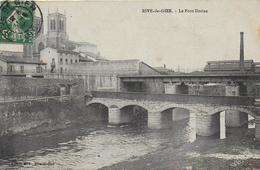 42)   RIVE  De  GIER  - Le Pont Dorian - Rive De Gier