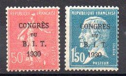 FRANCE - YT N° 264-265 - Neufs ** - MNH - Cote: 55,00 € - Ungebraucht