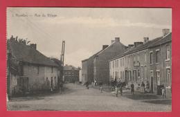 Roselies - Rue Du Village ... Jolie Carte Animée - 192? ( Voir Verso ) - Aiseau-Presles