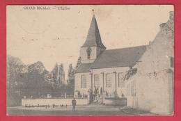Groot-Bijgaarden / Grand Bigard - L'Eglise / De Kerk - 1911 ( Verso Zien ) - Dilbeek