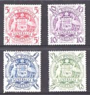 Australia 1948 Arms Set Of 4 MNH - - 1937-52 George VI