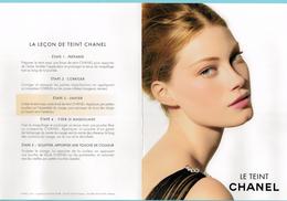 Cartes Parfumées Carte CHANEL LE TEINT CHANEL N°2 - Modern (vanaf 1961)