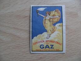 Illustrateur Exposition Du Gaz 1924 Erinnophile Vignette Timbre - Cruz Roja