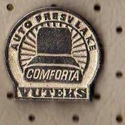 Auto Upholstery COMFORTA.Vuteks Old Factory From Croatia Yugoslavia - Badges