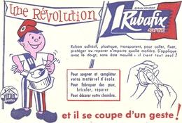 Buvard Rubafix  Une Revolution - Buvards, Protège-cahiers Illustrés