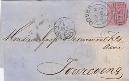 BELLE LETTRE A DESTINATION DE LA FRANCE - 1840-1901 (Victoria)