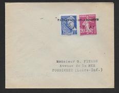 Meuse -  Oblitération De Fortune  PASSAVANT EN ARGONNE  ( Invasion 1940 ) - Marcophilie (Lettres)