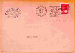 FL21-21 : DEPT 21 (COTE D´OR) ARNAY LE DUC 1972-73 > FD ILLUSTREE ARCHITECTURE - Marcophilie (Lettres)