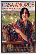 CASA AMOROS (VINOS POR MAYOR) - REPRO  M358 - Advertising
