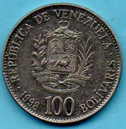 R80/  VENEZUELA  100  Bolivares 1998 - Venezuela