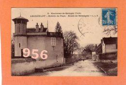 CPA * * CHOUZELOT * * Entrée Du Pays - Route De Besançon - Autres Communes