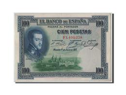 Espagne, 100 Pesetas, 1925, KM:69c, 1925-07-01, TTB+ - [ 1] …-1931 : First Banknotes (Banco De España)