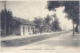 Cpa 01 – Camp De La Valbonne – 2 La Gare - France