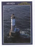 29 Bretagne   Le Phare D'Ar-Men ( àl'ouest De L'île De Sein, Construit 1867-1881, Tour 35m50 ) TBE - Leuchttürme
