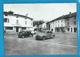 C.P.M. VONNAS - Place Ferdinand - Belle 4ch. Et Belle 203 - France