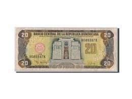 Dominican Republic, 20 Pesos Oro, 1998, KM:154b, TB - Dominicaine