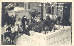 Cpa 04 – Digne 1922 – Mi-Carême – Char Du Comité - Mosquée Arabe - Digne