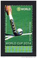 Belg. 2014 - COB N° 4421 ** - Hockey World Cup + Timbre 4421 - Ongebruikt