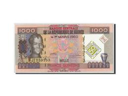 Guinea, 1000 Francs, 2010, KM:43, 2010-03-01, SPL - Guinea
