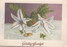 Huwelijkskaart 1953 - Noces