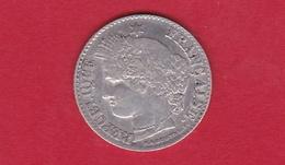 France 20 Centimes Cérès 1850 A - E. 20 Centesimi