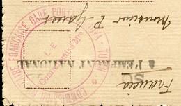 CACHET COMMISSION MILITAIRE FRANCAISE GARE PORTA NUOVA TURIN - LE COMMISSAIRE Mre - SUR CPA TURIN 1918 - Marcophilie (Lettres)