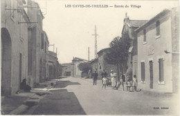 Cpa 11 – Les Caves De Treilles – Entrée Du Village - France