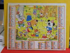 Calendrier > L'Année De Naissance Pour Enfant - Almanach Des P.T.T. 1992 Vendu En état - Grand Format : 1991-00
