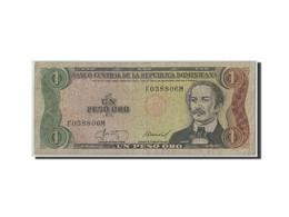 Dominican Republic, 1 Peso Oro, 1987, KM:126b, B - Dominicaine
