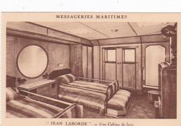 Bateaux -- Messageries Maritimes -- Jean Laborde -- Une Cabine De Luxe - Dampfer