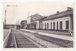 Piéton: La Gare. (avec Train) - Chapelle-lez-Herlaimont