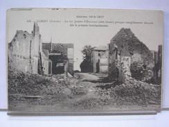 80 - ALBERT - LA RUE JEANNE D'ARCOURT (COTE OUEST) PRESQUE COMPLETEMENT DETRUITE - Albert