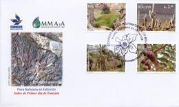 FDC, Flora Boliviana En Extincion - Bolivia