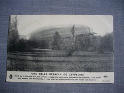 Une Belle Débacle De Zeppelins  -  -  Dirigeable  -  Zeppelin  -  Aviation  - - Dirigeables