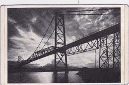 Florianopolis - Ponte Hercilio Luz ( Carte Rallongée Par Collage & Découpage Manuel Du Pourtour - Pas Circulé - Florianópolis