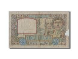France, 20 Francs Science Et Travail, 1939-12-07, KM:92a, Fayette:12.1, B - 1871-1952 Anciens Francs Circulés Au XXème