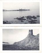 Cpa 20 – 2 Cartes-photos – Ile-Rousse 1940 - France