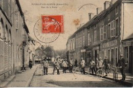 21 POUILLY-en-AUXOIS  Rue De La Poste - Andere Gemeenten