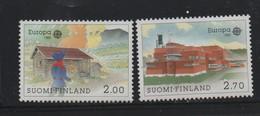 LOT 165 - FINLANDE EUROPA N° 1074/1075 ** - BATIMENTS POSTAUX - Cote 8 € - Europa-CEPT