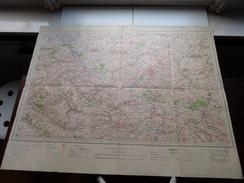 LILLE N° 4 - 200.000 Tirage 1928 - Geo De L'Armée Paris ( Formaat 53 X 68 Cm. ) Zie Foto´s ! - Europa