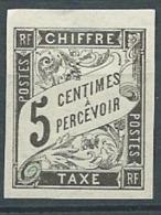 Colonie Générale - Taxe    - Yvert N°  5 (*)    - Cw20023