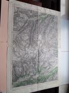 MATHON 170 - 143 St. Anton Am Arlberg 1/50.000 - 1947 ( Formaat 45 X 66 Cm. ) Zie Foto´s ! - Europe