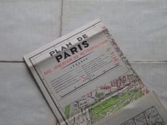 Ile De France Routière / Paris (Indic Metro) / Georges Lang Ed. L'Indispensable ( Formaat 52 X 72 Cm. ) Zie Foto´s ! - Europe