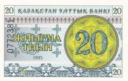 KAZAKISTAN  20 TIYN  1993    FDS - Kazakistan